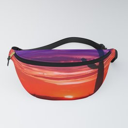 Wild colored Nature 11 Fanny Pack