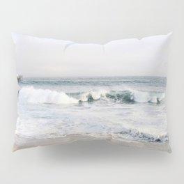 Crashing waves & hazy skies Pillow Sham