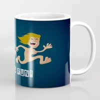 naked Mugs featuring Naked Run! by neicosta