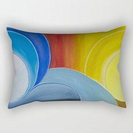 Sol e lua Rectangular Pillow