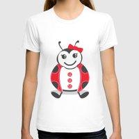 ladybug T-shirts featuring LadyBug by Alìta Design