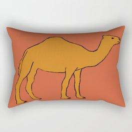 The funny camel Rectangular Pillow