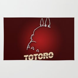 Totoro - Hitchcockian edition Rug