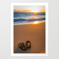 Time to relax... Art Print