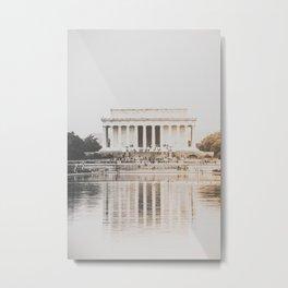 Lincoln Memorial Washington D.C. Metal Print