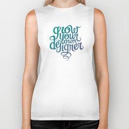 Grow Your Own Designer Biker Tank