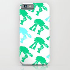 AT-AT's in Green and Blue iPhone 6s Slim Case