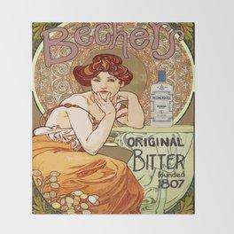 Becher's Original Throw Blanket