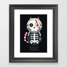 Scat Framed Art Print