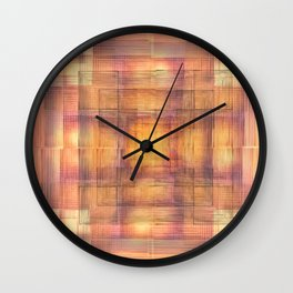 Patchwork Destiny Wall Clock
