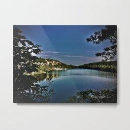 Lake Minnewaska Metal Print