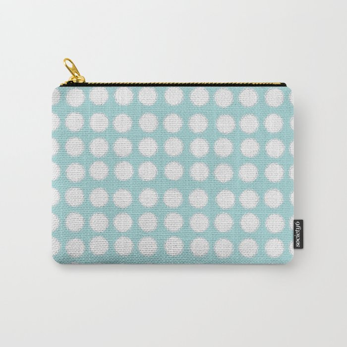 milk glass polka dots Carry-All Pouch