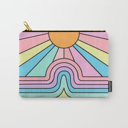 Rainbow No. 1 - The curve flattens and hope shines Carry-All Pouch