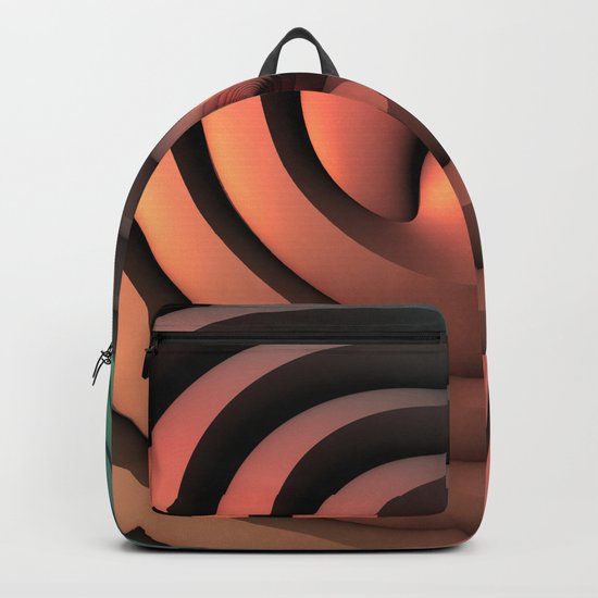 Spiraling One Backpack