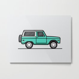 1970 Ford Bronco Metal Print