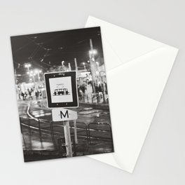 bus stop Stationery Cards