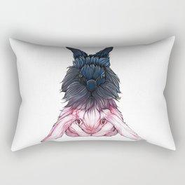 Willow And Zinc Rectangular Pillow