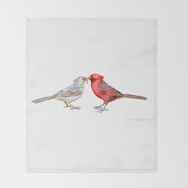I Grub You by Teresa Thompson Throw Blanket