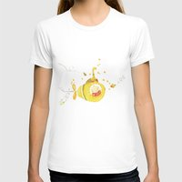 yellow submarine T-shirts featuring Baby's yellow submarine by La Bella Leonera