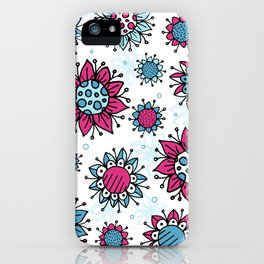 Weird and Wonderful (Flowers) iPhone Case