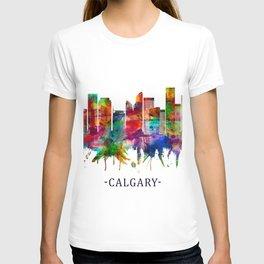 Calgary Canada Skyline T-shirt