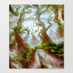Wooded Foothills Canvas Print