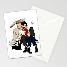Scream's OTP Stationery Cards