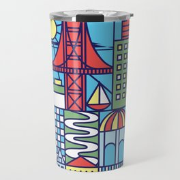 San Francisco, California Travel Mug