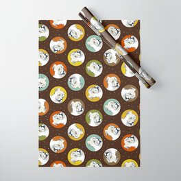 Pete - PetBunch by Friztin Wrapping Paper