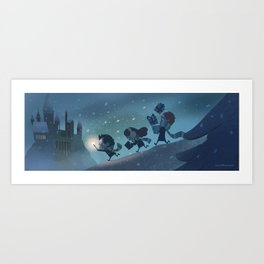 Magical Night Art Print