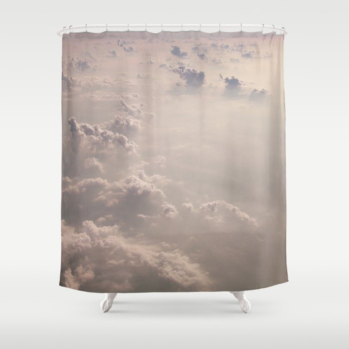 Clouds Shower Curtain By Debbiecarlos