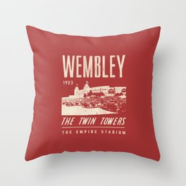 Football Grounds Throw Pillow