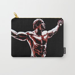 Arnold Schwarzenegger Portrait Pop  Carry-All Pouch