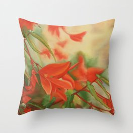 Balade d'ete Throw Pillow