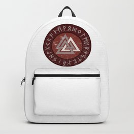 Valknut | Viking Warrior Symbol Triangle Backpack