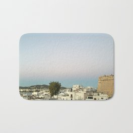 Ibiza Old Town at Sunset Bath Mat