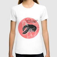 lobster T-shirts featuring lobster by Isabella Asratyan