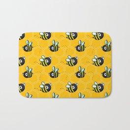 Bumble Bees Bath Mat