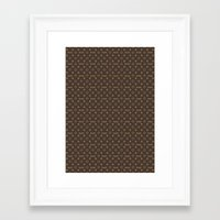 lv Framed Art Prints featuring Fake LV by Rui Faria