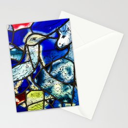Marc Chagall Tudele Stained Glass Stationery Cards