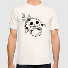 Al Pastor chili-flip LARGE Natural Mens Fitted Tee