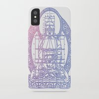 sacred geometry iPhone & iPod Cases featuring Sacred Geometry 2 by Hazel Bellhop