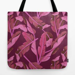 Tropical '17 - Ajaja [Banana Leaves] Tote Bag