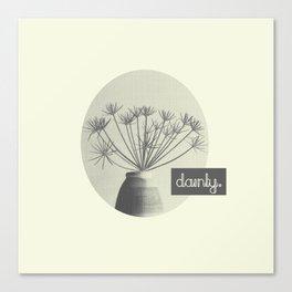 Dainty Canvas Print