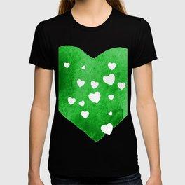 Green Hearts T-shirt
