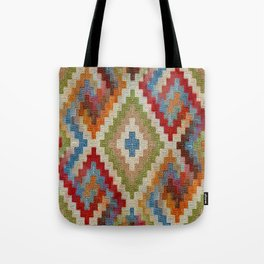 kilim rug pattern Tote Bag