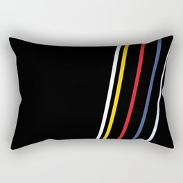 February Print 5 Rectangular Pillow