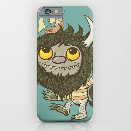 An Ode To Wild Things iPhone & iPod Case