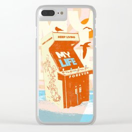 MY LIFE Clear iPhone Case