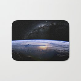 Earth is Round Bath Mat